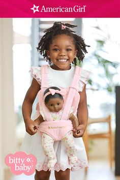 For girls on the go, go, go! Find a new way every day to take Baby out and about with this front doll carrier or take Baby for a walk in the Bassinet Stroller. Going on picnics and zoo trips is so much more fun with Baby by her side. Shop Bitty Baby! Baby Dolls For Toddlers, Doll Carrier, Baby Doll Accessories, All American Girl, Baby Learning, Bitty Baby, Girl Online, Picnics, Bassinet