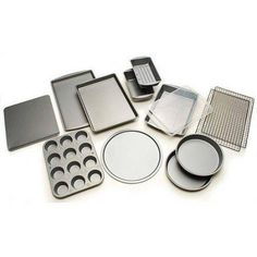Buy BakerEze 12-Piece Bakeware Set at Walmart.com - Free Shipping on orders over $50