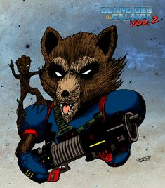 Glaydson Gomes: ROCKET AND GROOT