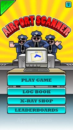 Catch The Hooligans With Contraband in Airport Scanner. #iOS #games #appreview http://shar.es/hDrtm