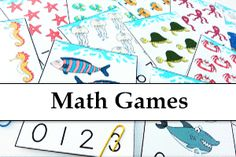 TONS of FREE Preschool Learning Games for Kids! At Folder Fun we have Hundreds of free printable file folder games, covering grades and a variety of different subjects. Number Games Preschool, Preschool Special Education, Preschool Printables, Free Preschool, Numeracy Activities, Early Learning Activities, Toddler Learning Activities, Fun Learning, File Folder Games