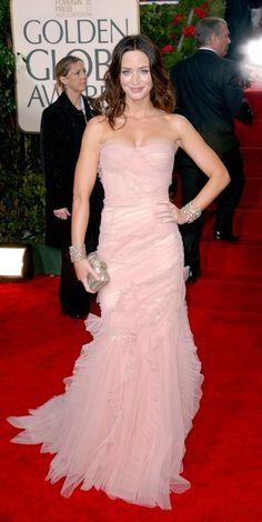 Emily Blunt - Golden Globes 2010 in Dolce & Gabbana