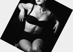 Fashion lingerie - Model:Maria Louisa