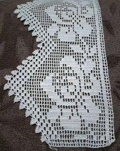 Crochet Edging Patterns, Elsa, Cross Stitch, Lace, Handmade, Vintage Crochet Dresses, Crochet Hammock, Thread Crochet, Tricot Crochet