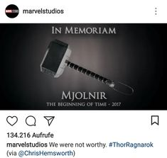 Thor, Ragnorak, film, comics, comic books, comic book movies, Marvel comics, 2010s, 10s, 2017