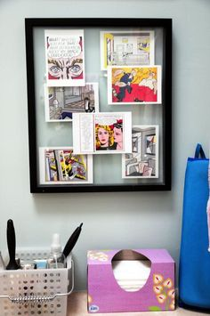 Forget about matting, cutting wood and finding acid-free painter's tape — the floating glass frame is here to make framing art remarkably easy. If using a store-bought frame, just sandwich the art or found object between the pieces of glass—and voilà, you have a wall-worthy piece. DIY-ing your own is hardly more complicated: two sheets of glass and a roll of black tape is all you'll need. Clearly, making this frame is simple, but what you display can be as minimal or elaborate as you ...