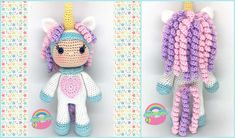 """This beautiful unicorn girl doll will bring a sparkle to a girl's eyes. The Unicorn Girl Doll measures 10"""" in height (without the horn)."""