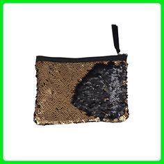 c88b1f8f9fa OULII Fashion Wallet Sparkly Sequin Clutch Bag Handbag Lady Party Evening  Clutch Bag Purse - Evening