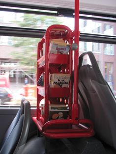 In Hamburg they have bookshelves in the buses and people can take a book and read while going somewhere.