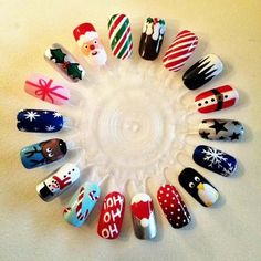 Christmas Nail Art Design Ideas 2013-2014