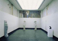 Gustav Klimt - Beethoven-Frieze / Beethoven Fries in der Secession