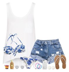 """""""I wish summer was here ... """" by lovelyl4uren ❤ liked on Polyvore featuring rag & bone, H&M, Sun Bum, Aéropostale, Casetify, Christian Dior and Sarah Chloe"""