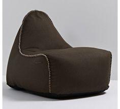 RETROit Medley - Lounge sækkestol i brun