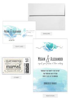 Month 2: Mail your invitations! 12 Month Wedding Checklist @weddingchicks