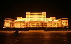Peoples Palace in Bucharest Romania.