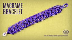 Macramé Laurel Leaf or Cat Eye Bracelet ;) Tutorial for this bracelet you can see here: http://youtu.be/eL4QmWSTo9I This lovely Greek style armlet has two le...