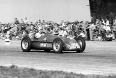 Reg Parnell (GB) - Alfa Romeo 158 (Alfa Romeo 8S) 3 (4) Alfa Corse / SA Alfa Romeo #4, Britain GP, Silverstone, 1950.