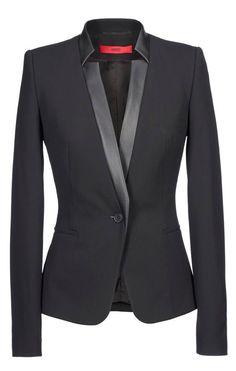 blazer Hugo Boss by angela Business Outfits, Business Attire, Hugo Boss, Work Fashion, Fashion Design, Fashion Trends, Modest Fashion, Fall Fashion, Mode Shop