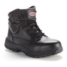 Iron Age Sport Men's Steel-Toe Work Boots, Size: medium (10), Black