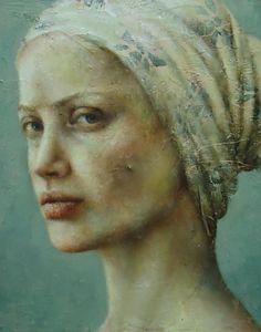 beautiful figure  portrait paintings   Beautiful Pretences' IV,Portrait Painter Fine Artist Portrait Painting ...
