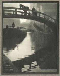 Regent's Canal, by Alvin Langdon Coburn 1910