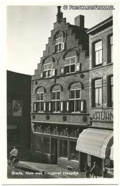 Breda, Huis met trapgevel Haagdijk 1954