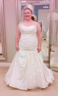 allure bridals 8966 850 size 8 new un altered wedding dresses