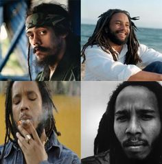 All Marley Brothers -   Damian, Ky-Mani, Stephen, and Ziggy