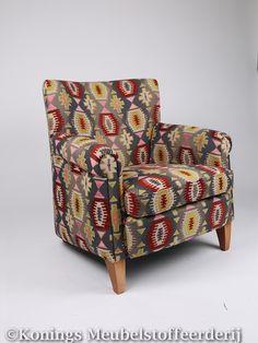 Bench stoel.  Konings Meubelstoffeerderij. www.facebook.com/koningsweert