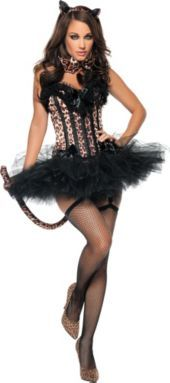 Adult Carousel Sexy Leopard Costume