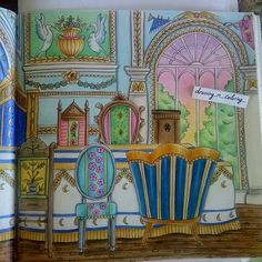 #eriy #romanticcountry #romanticcountrycoloringbook #romanticdiningroom…