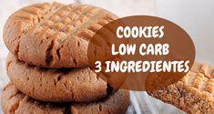 A receita original que foi postada inúmeras vezes em toda a internet exige uma xícara de açúcar, decidi testar versão cookies low carb fácil com apenas os três ingredientes.Confira!