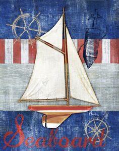 Maritime Boat II Print by Paul Brent at Art.com