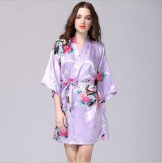 Lavender Bridesmaid Robes