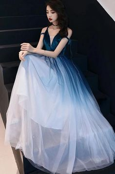 Simple green tulle long prom dress, green tulle evening dress Source by kathyedc dress green Prom Dress Black, Prom Girl Dresses, Matric Dance Dresses, Blue Green Dress, Blue Evening Dresses, Royal Dresses, Black Prom, Princess Dresses, Elegant Dresses For Women