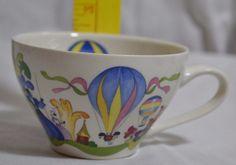 """Villeroy & Boch - La Ballon - Tea Cup/Mug 3.5"""" Across plus handle, 2.5"""" Tall…"""