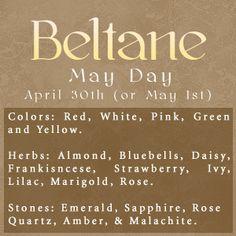 Beltaine:  #Beltane.