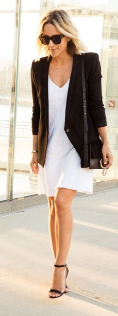 Black And White Chic Style by Damsel In Dior