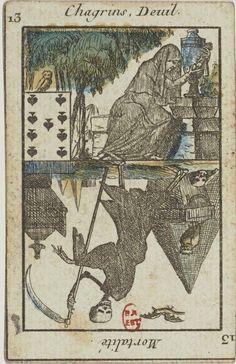 Bibliothèque nationale de France. Jeu du Petit Oracle:  [jeu de cartes, estampe] - 23 (1795-1799)
