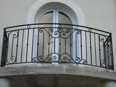 Balcony Grill Design, Balcony Railing Design, Window Grill Design, Staircase Design, Front Door Makeover, Staircase Makeover, Iron Stair Railing, Railings, Iron Gate Design