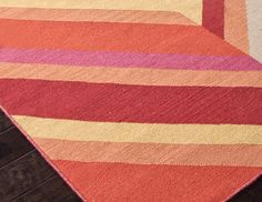 I pinned this from the Woven Wonders - Patterned Flatweave Rugs for Every Room event at Joss and Main!
