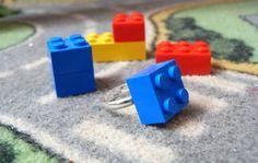 """Bague Lego """"En avant les histoires"""" - Les Bijoux Indiscrets"""