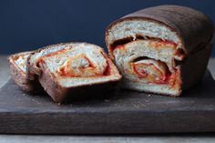 Red pepper and smoked cheese swirl bread — The Kitchen Alchemist