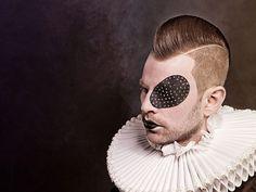 NUDE HAIR by Maria Messner Art Ideas, Nude, Eyes, Hair, Beauty, Barber Salon, Cosmetology