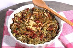 Boerenkool stamppot met ui, gedroogde tomaat en kaas - De keuken van Ursie