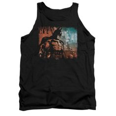 Batman Arkham City - City Knockout Adult Tank Top T-Shirt
