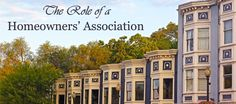 The Role of a Homeowners Association