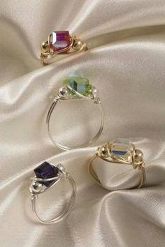 Rings DIY by wanting