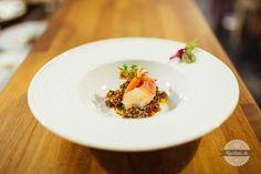 Guinea šalát s prosciutto krevetou a baby mrkvičky