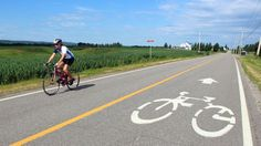 Cycling La Route Verte, Canada (Credit: Graeme Green)